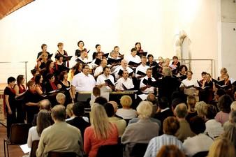 Concert donné ensuite par le Choeur de chant de Didier Basdevant